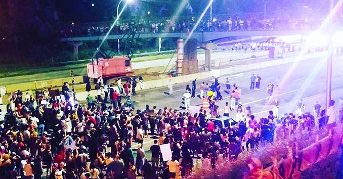 Interstate 94 Shutdown by Rioters