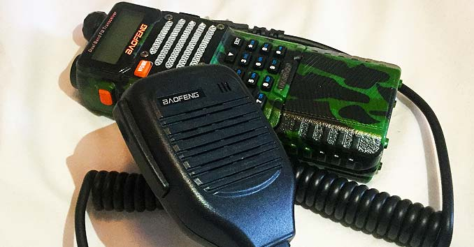 Baofeng UV 5RV2 Ham Radio
