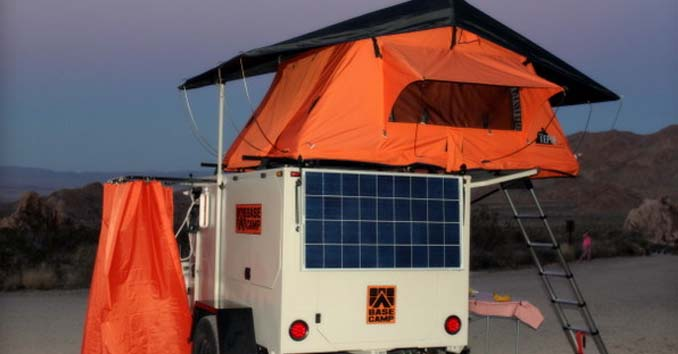 Base Camp Trailer Tent