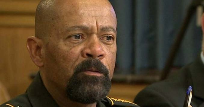 Milwaukee, Wisconsin Sheriff David Clarke