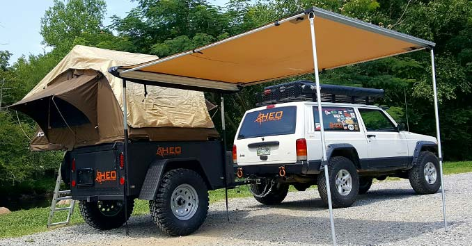HEO T3 Off-Road Travel Trailer