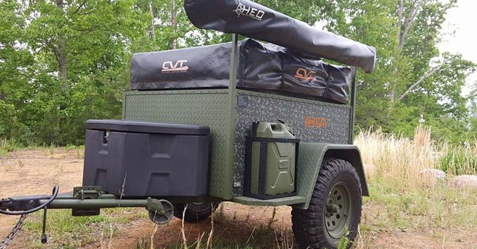 Survival Bug Out Trailer : Offgrid trailers bugout that will go anywhere