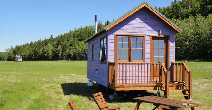 Domaine Floravie Tiny Home on Wheels