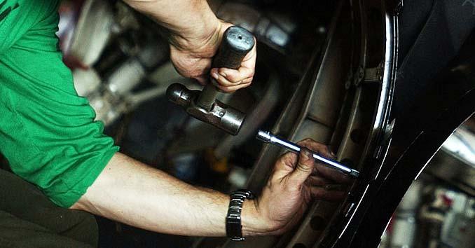 Handyman Working