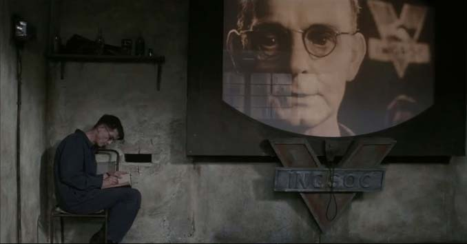 A Scene from Orwell's 1984