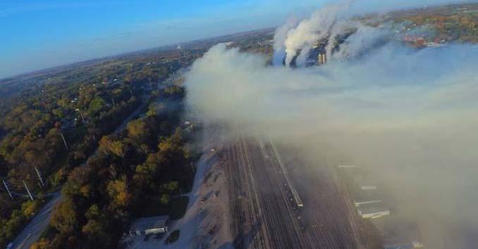 Atchison, KS Chlorine Chemical Spill
