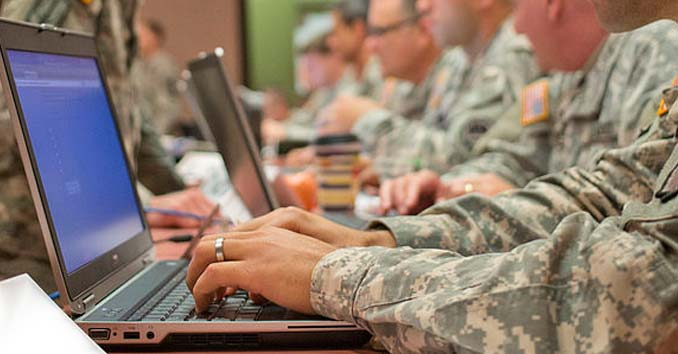 U.S. Cyberwarfare troops