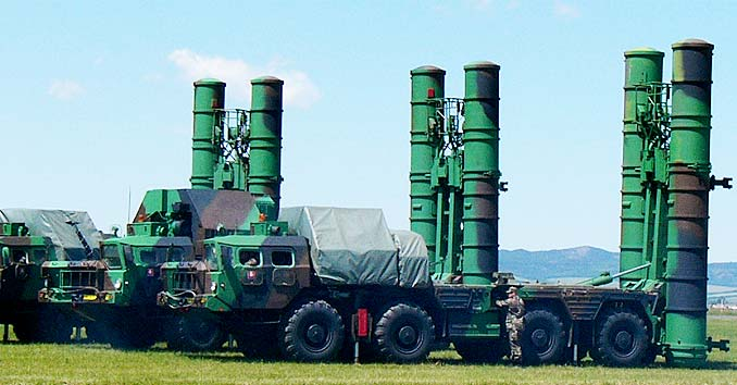 Russian S-300 missile systems