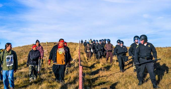 Standing Rock Protest Intensifies Over Dakota Access Pipeline