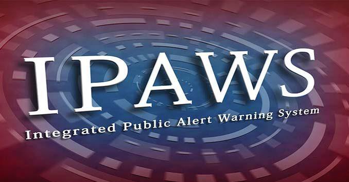 IPAWS Emergency Alert