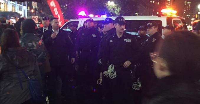 NYPD Getting Ready to Make Arrests