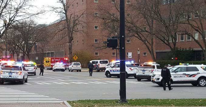 Ohio State University Lockdown
