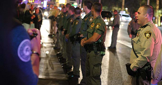 Las Vegas Tactical Police Units