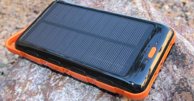 ToughTested Solar Battery Pack