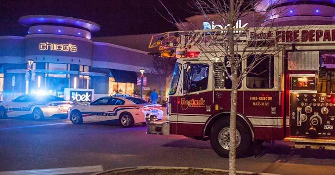 Fayetteville, North Carolina, Cross Creek Mall Evacuation
