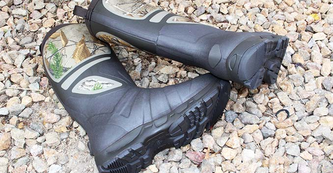Muck Pursuit Shadow Pull-On Hunting Boots