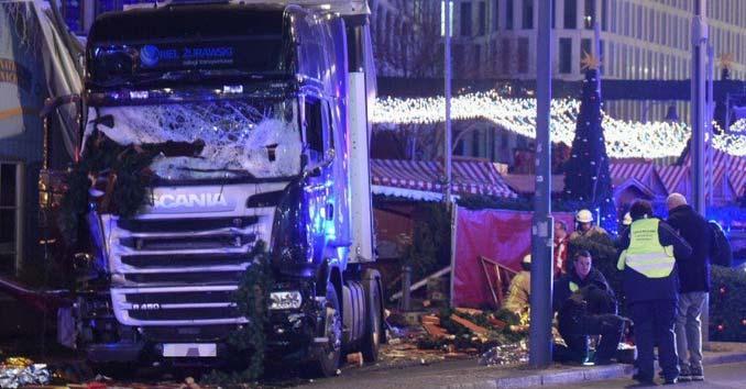 Berlin Terror Attack Truck Plows Through Christmas