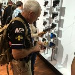 Jerry Miculek checking out the competition