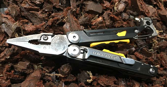 The Leatherman Signal Multitool