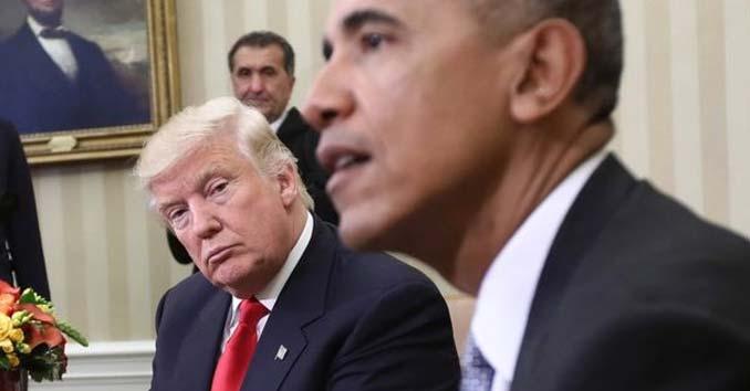 President Donald Trump and Former President Obama