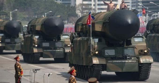 North Korea KN-08 Missiles