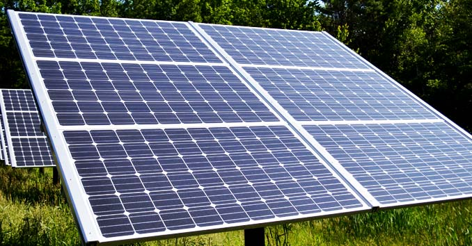 Offgrid Living How Many Solar Panels And Batteries Do You