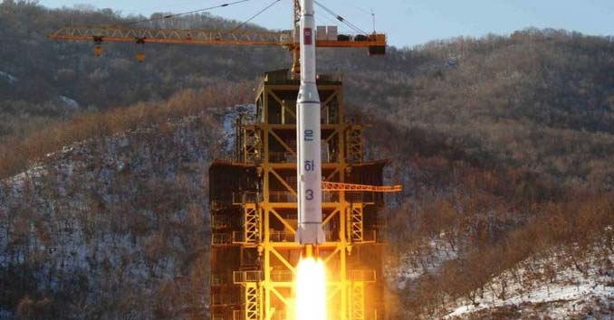 North Korea's Unha 3 rocket