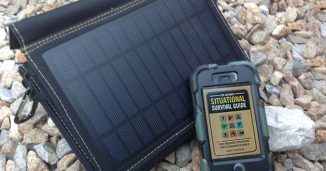Emergency Backup Solar Panel Power
