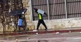 looting in Texas