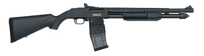 Mossberg 590M Tri-Rail Shotgun