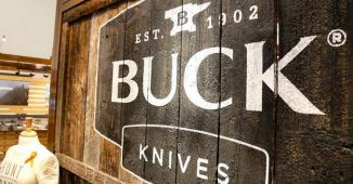 Buck Knives at the 2018 SHOT Show