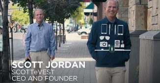 ScotteVest CEO Scott Jordan