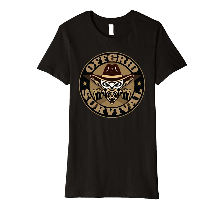 Women's OFFGRID Survival Logo T-Shirt