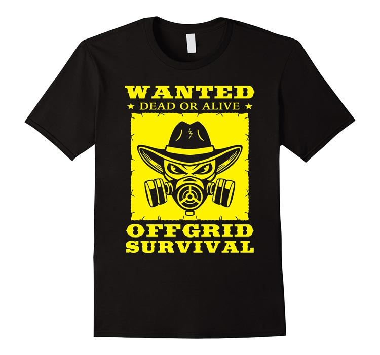 OFFGRID Wanted Western T-Shirt