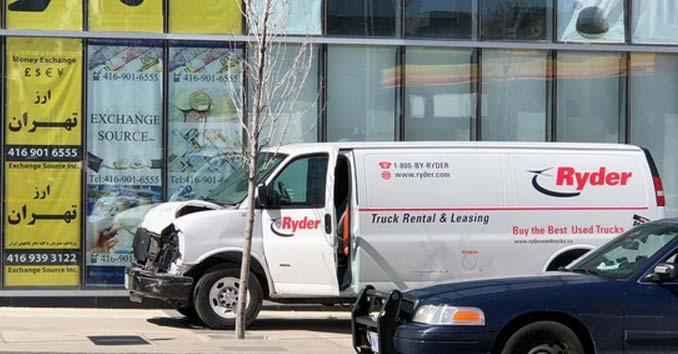 Ryder Van Attack