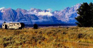 Boondocking in Grand Teton National Park