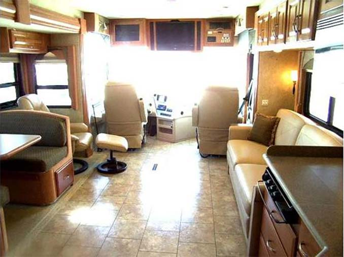 Inside of an RV