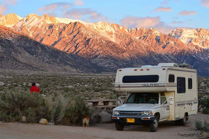 wilderness boondocking