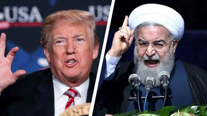 Iran Leader and Trump