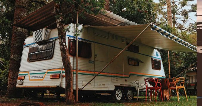 Living in a Travel Trailer