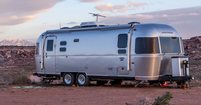 Living in an Airstream Trailer