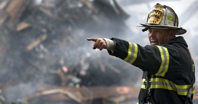 First Responder during a disaster