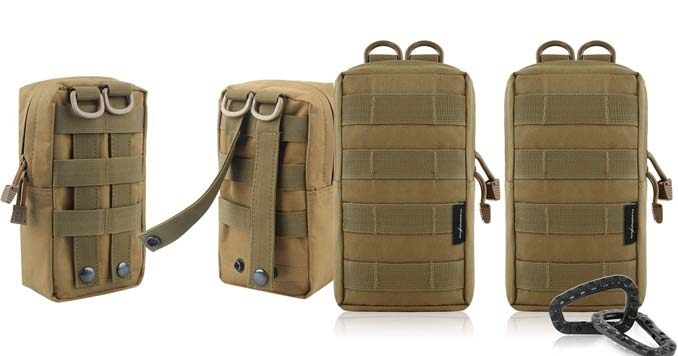MOLLE Backpack pouches