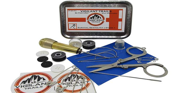 Vigilant Trails Sewing Kit