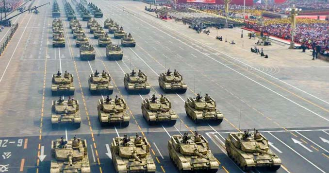 Chinese tank battalions