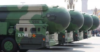 The Chinese Dongfeng 41 ICBM