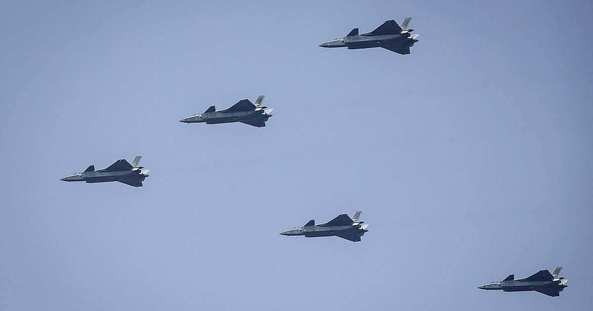 J-20 stealth fighters