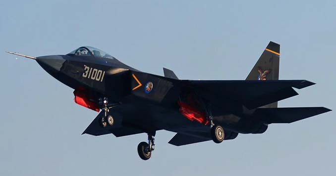 Chinese J-31 fighter