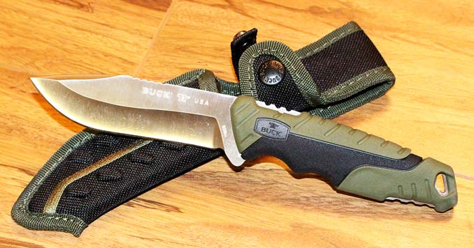 Buck 656 Pursuit Fixed Blade Knife