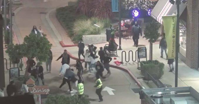 Thugs at a mall